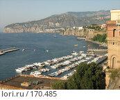 Купить «Вид на Неаполитанский залив. Сорренто. Италия», фото № 170485, снято 21 июля 2007 г. (c) Татьяна Чурсина / Фотобанк Лори