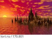 Купить «Закат», иллюстрация № 170801 (c) ElenArt / Фотобанк Лори