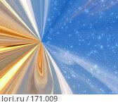 Купить «Космическая абстракция», иллюстрация № 171009 (c) ElenArt / Фотобанк Лори