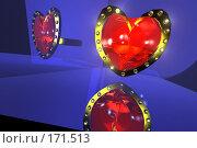 Купить «Кольцо с красным камнем», фото № 171513, снято 25 мая 2018 г. (c) Владимир Ильин / Фотобанк Лори