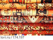 Купить «Персидские ковры», фото № 174197, снято 1 декабря 2007 г. (c) Владимир Мельник / Фотобанк Лори