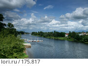 Пристань в городе Твери (2007 год). Стоковое фото, фотограф Светлана Архи / Фотобанк Лори