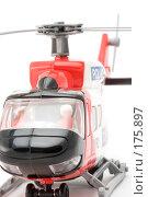 Купить «Игрушечный вертолет, крупный план», фото № 175897, снято 5 января 2008 г. (c) Угоренков Александр / Фотобанк Лори