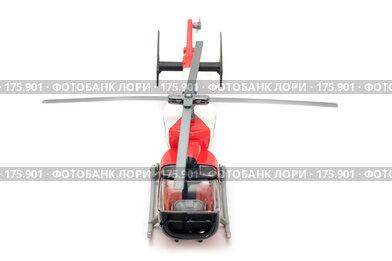 Купить «Вертолет на белом фоне», фото № 175901, снято 5 января 2008 г. (c) Угоренков Александр / Фотобанк Лори