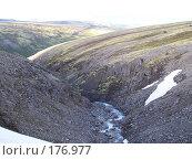 Купить «Ручеёк в горах», фото № 176977, снято 24 июня 2006 г. (c) Вадим / Фотобанк Лори
