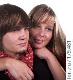Купить «Влюбленные», фото № 179481, снято 21 октября 2007 г. (c) Коваль Василий / Фотобанк Лори