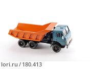 Купить «Коллекционная масштабная модель грузового автомобиля Камаз», фото № 180413, снято 17 января 2008 г. (c) Денис Дряшкин / Фотобанк Лори