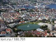 Купить «Вид на Берген, Норвегия», фото № 180701, снято 30 августа 2007 г. (c) Наталья Белотелова / Фотобанк Лори