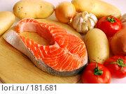 Купить «Рыбное филе», фото № 181681, снято 20 января 2008 г. (c) Лифанцева Елена / Фотобанк Лори