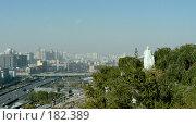 Купить «Панорама города Урумчи. Китай», фото № 182389, снято 23 октября 2018 г. (c) Вера Тропынина / Фотобанк Лори