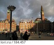 Купить «Главная площадь Копенгагена», фото № 184457, снято 30 декабря 2007 г. (c) Георгий Ильин / Фотобанк Лори