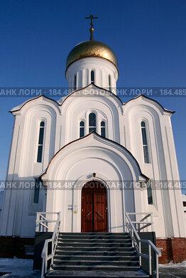 Купить «Храм Святых Новомучеников Российских.Новосибирск.», фото № 184485, снято 23 января 2008 г. (c) Виктор Ковалев / Фотобанк Лори