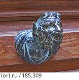 Купить «Дверная ручка. Венеция. Италия.», фото № 185309, снято 18 октября 2007 г. (c) GrayFox / Фотобанк Лори