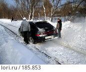 Купить «Снегопад в Самаре», фото № 185853, снято 25 января 2008 г. (c) Светлана Кириллова / Фотобанк Лори