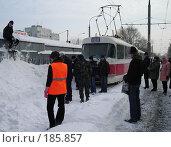 Купить «Снегопад в Самаре», фото № 185857, снято 25 января 2008 г. (c) Светлана Кириллова / Фотобанк Лори