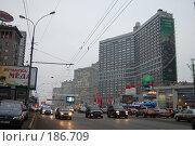 Купить «Новый Арбат», фото № 186709, снято 16 января 2008 г. (c) Бычков Игорь / Фотобанк Лори