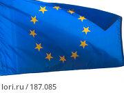 Купить «Флаг Евросоюза», фото № 187085, снято 28 ноября 2006 г. (c) Vladimirs Koskins / Фотобанк Лори