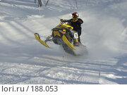 Купить «Гонка на снегоходах», фото № 188053, снято 20 января 2008 г. (c) Талдыкин Юрий / Фотобанк Лори