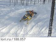 Купить «Гонка на снегоходах», фото № 188057, снято 20 января 2008 г. (c) Талдыкин Юрий / Фотобанк Лори