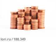 Купить «Колонки монет», фото № 188349, снято 10 ноября 2007 г. (c) Dzianis Miraniuk / Фотобанк Лори