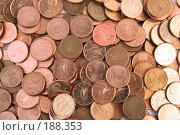 Купить «Монеты достоинством в один цент», фото № 188353, снято 10 ноября 2007 г. (c) Dzianis Miraniuk / Фотобанк Лори