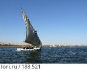 Купить «Парусник на Ниле возле Луксора», фото № 188521, снято 15 января 2008 г. (c) Яков Филимонов / Фотобанк Лори