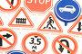 Игрушечные дорожные знаки, фото № 189257, снято 29 января 2008 г. (c) Угоренков Александр / Фотобанк Лори