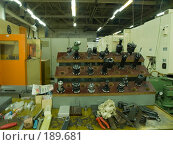 Купить «Стойка с инструментом», эксклюзивное фото № 189681, снято 24 января 2008 г. (c) Алина Голышева / Фотобанк Лори