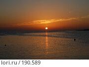 Купить «Красное море», фото № 190589, снято 18 ноября 2007 г. (c) Сергей Владимирович / Фотобанк Лори