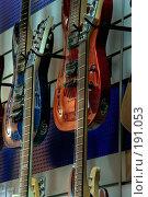 Купить «Электрогитары», фото № 191053, снято 26 апреля 2018 г. (c) Андрей Соколов / Фотобанк Лори