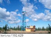 Ветряной электрогенератор. Стоковое фото, фотограф Михаил Сунгуров / Фотобанк Лори