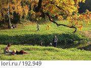 Купить «Осенний пейзаж (Павловск)», фото № 192949, снято 29 сентября 2007 г. (c) Наталья Белотелова / Фотобанк Лори