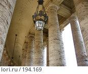 Купить «Колонны собора св. Петра в Ватикане», фото № 194169, снято 22 мая 2007 г. (c) Маргарита Лир / Фотобанк Лори