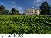 Купить «Павловский дворец», фото № 194505, снято 14 августа 2007 г. (c) Николай Федорин / Фотобанк Лори