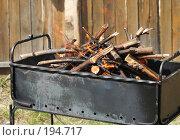Купить «Мангал с дровами», фото № 194717, снято 30 апреля 2006 г. (c) Андрей Ерофеев / Фотобанк Лори
