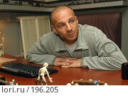Купить «Юсуп Бахшиев», фото № 196205, снято 20 сентября 2003 г. (c) Константин Куцылло / Фотобанк Лори