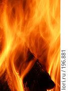 Купить «Огонь камина», фото № 196881, снято 19 января 2008 г. (c) Федор Королевский / Фотобанк Лори