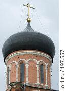 Купить «Глава Никольского собора в Волоколамске», фото № 197557, снято 26 августа 2007 г. (c) Юрий Синицын / Фотобанк Лори