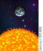Купить «Космический пейзаж», иллюстрация № 197809 (c) Карелин Д.А. / Фотобанк Лори