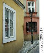 Купить «Пражская улица», фото № 200817, снято 13 мая 2006 г. (c) Светлана Шушпанова / Фотобанк Лори