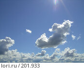 Купить «Облака», фото № 201933, снято 23 апреля 2007 г. (c) ARTiv / Фотобанк Лори