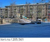 Купить «Детская площадка г. Краснокаменск», фото № 205561, снято 19 февраля 2008 г. (c) Геннадий Соловьев / Фотобанк Лори