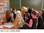 Купить «Разбор полётов в первом классе», фото № 205649, снято 29 ноября 2007 г. (c) Федор Королевский / Фотобанк Лори