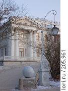 Купить «Елагин дворец. Санкт-Петербург», фото № 205961, снято 16 февраля 2008 г. (c) Марина Дмитриевых / Фотобанк Лори