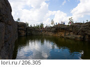 Купить «Озеро Бассейн. Каркаралинск. Казахстан.», фото № 206305, снято 3 августа 2007 г. (c) Михаил Николаев / Фотобанк Лори