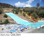 Купить «Аквапарк в доме отдыха», фото № 206841, снято 20 марта 2007 г. (c) Алёна Фомина / Фотобанк Лори