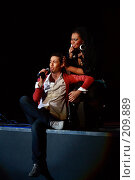 Купить «Марк Тишман и Корнелия Манго», фото № 209889, снято 24 февраля 2008 г. (c) Илья Малышев / Фотобанк Лори