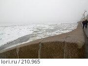 Купить «Набережная Невы. Туманный город...», эксклюзивное фото № 210965, снято 16 декабря 2007 г. (c) Александр Алексеев / Фотобанк Лори