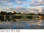 Купить «Мост в Царицыно. Москва», фото № 211125, снято 15 сентября 2007 г. (c) Елена Прокопова / Фотобанк Лори