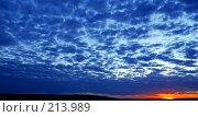 Купить «Синий вечер», фото № 213989, снято 28 июля 2007 г. (c) Анатолий Теребенин / Фотобанк Лори